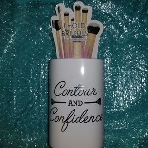Ceramic Makeup Brush Holder